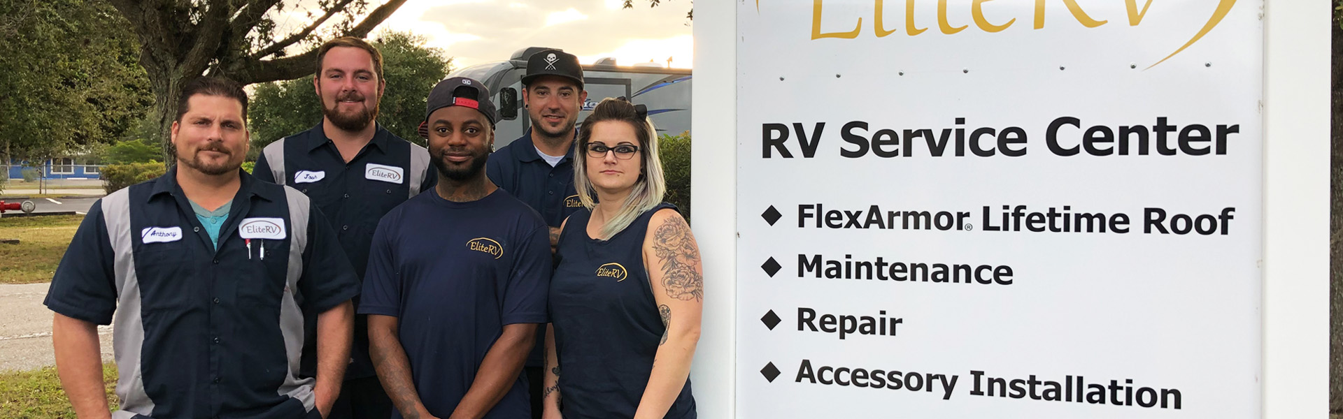 Dependable RV Services Crew